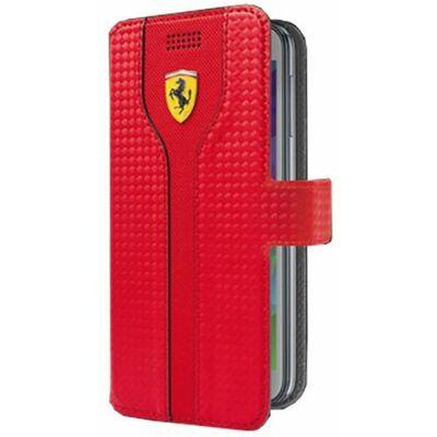 Ferrari univerzális könyv tok - Racing piros