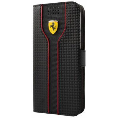 Ferrari univerzális könyv tok - Racing fekete