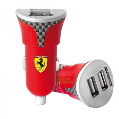 Ferrari univerzális autós töltő - Scudetto Carbon piros