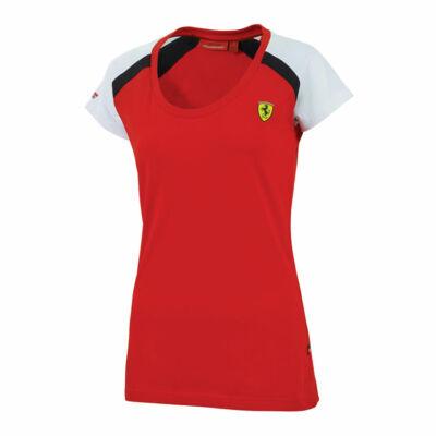Ferrari top - Race piros