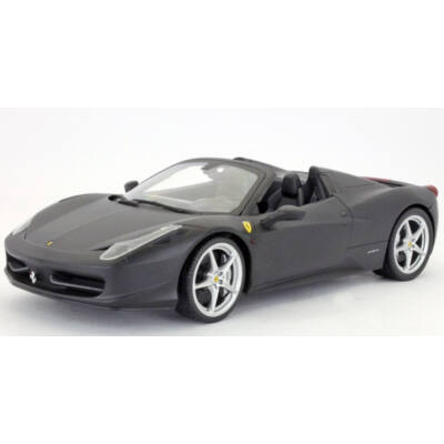 Ferrari modellautó - 458 Italia Spider fekete