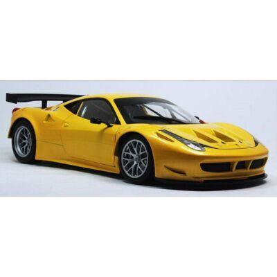 Ferrari modellautó - 458 Italia Italia GT2 sárga