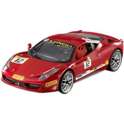 Ferrari modellautó - 458 Challange piros