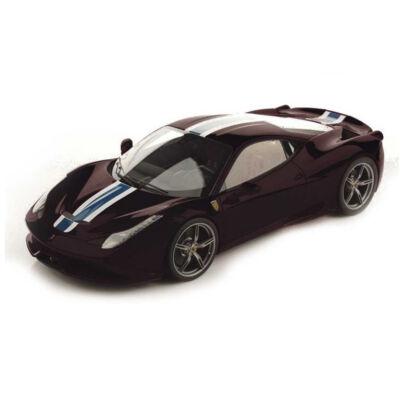 Ferrari modellautó - 458 Italia Speciale fekete