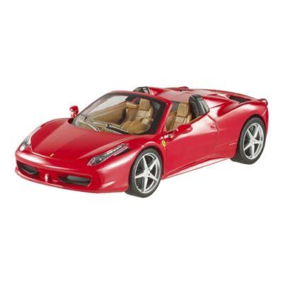 Ferrari modellautó - 458 Italia Spider piros
