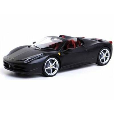 Ferrari modellautó - 458 Italia Spider matt fekete
