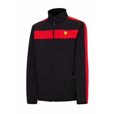 Ferrari softshell pulóver - Scudetto Doucolor fekete