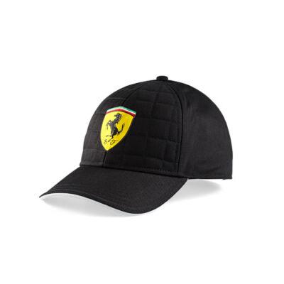 Ferrari sapka - Scudetto Quilt Stich fekete