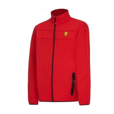 Ferrari softshell pulóver - Scudetto Doucolor piros
