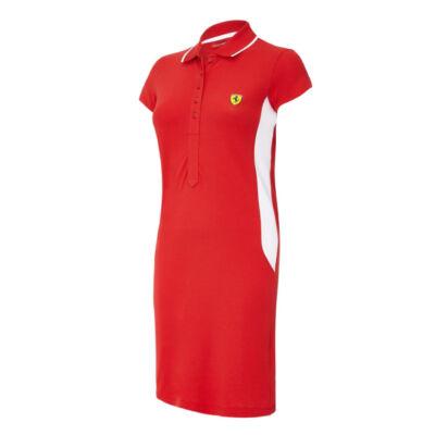 Ferrari női ruha - Scudetto Duocolor piros