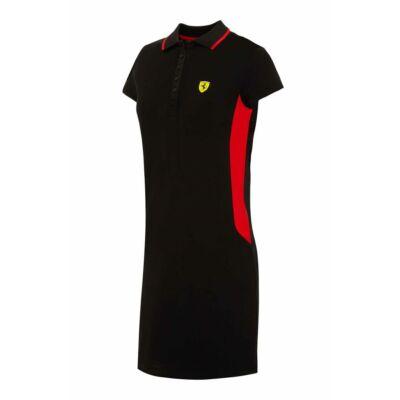 Ferrari női ruha - Scudetto Duocolor fekete