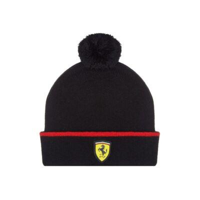 Ferrari gyerek sí sapka - Scudetto fekete