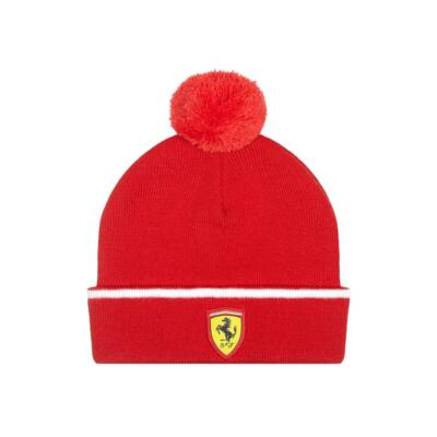 Ferrari gyerek sí sapka - Scudetto piros