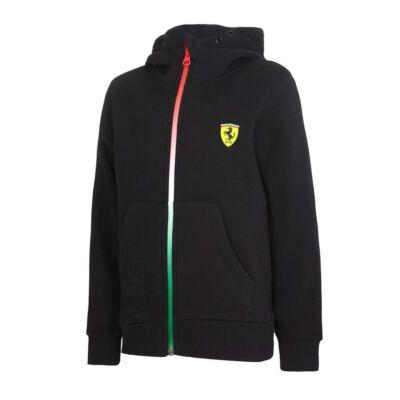 Ferrari gyerek pulóver - Double Logo fekete