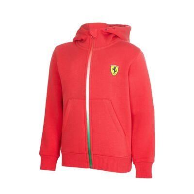 Ferrari gyerek pulóver - Double Logo piros