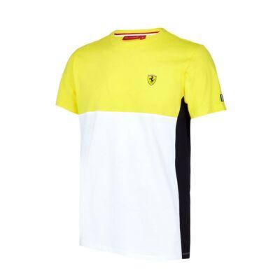 Ferrari póló - Dynamic sárga