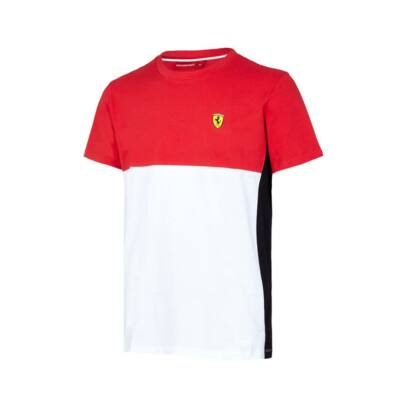 Ferrari póló - Dynamic piros