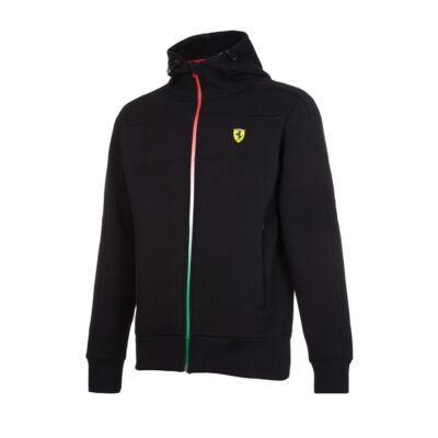 Ferrari pulóver - Double Logo fekete