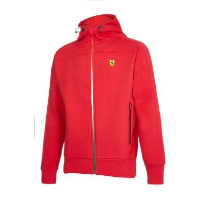 Ferrari pulóver - Double Logo piros
