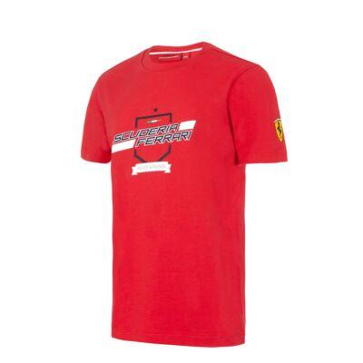 Ferrari gyerek póló - Scuderia Ferrari Graphic piros