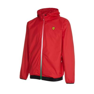 Ferrari kabát - Double Logo piros