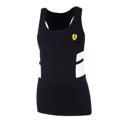 Ferrari női trikó - Scudetto Duocolor fekete