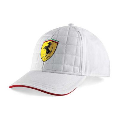 Ferrari sapka - Scudetto Quilt Stich fehér