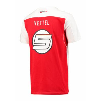 Ferrari póló - Vettel Duocolor