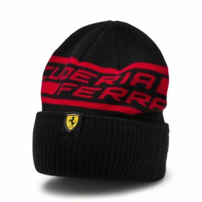 Ferrari sí sapka - Double Logo fekete