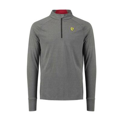 Ferrari pulóver - Scudetto Midlayer szürke