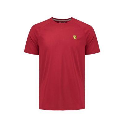 Ferrari póló - Scudetto Midlayer piros
