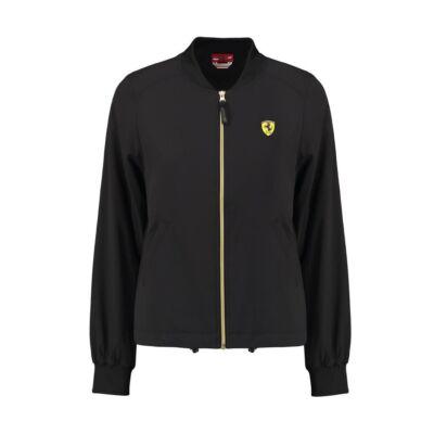 Ferrari női kabát - Scudetto Bomber fekete