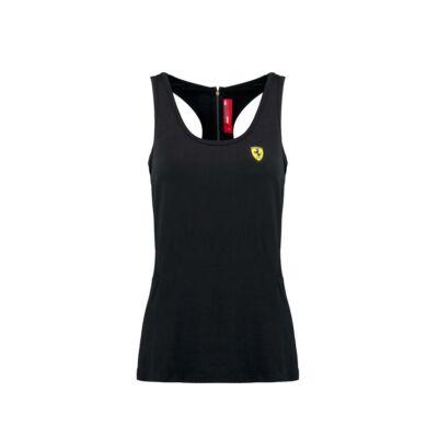 Ferrari női trikó - Scudetto Gold Zip fekete