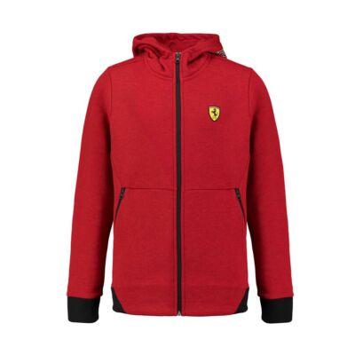 Ferrari pulóver - Scudetto Zip Through piros