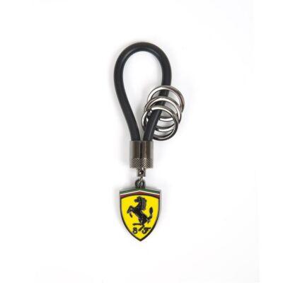 Ferrari kulcstartó - Scudetto Spinning fekete