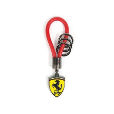 Ferrari kulcstartó - Scudetto Spinning piros