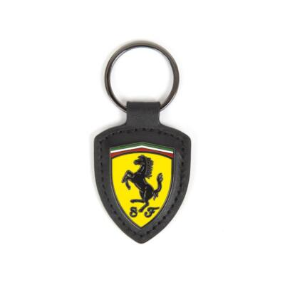 Ferrari kulcstartó - Scudetto Leather