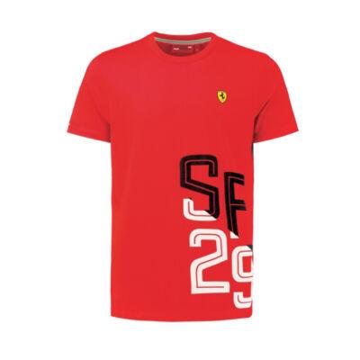 Ferrari póló - SF 29 Graphic piros