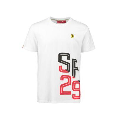Ferrari póló - SF 29 Graphic fehér
