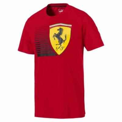 Ferrari póló - Large Scudetto Dynamic piros