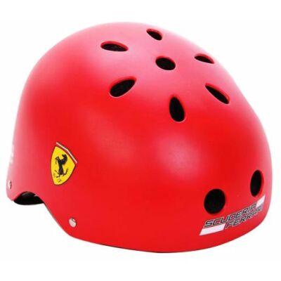 Ferrari bukósisak - Scudetto piros