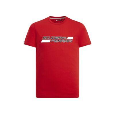 Ferrari póló - Scuderia Ferrari piros