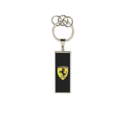 Ferrari kulcstartó - Scudetto Carbon