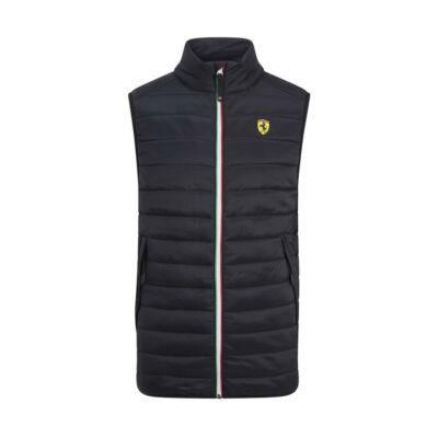 Ferrari mellény - Scudetto Tricolore Zip fekete