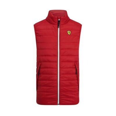Ferrari mellény - Scudetto Tricolore Zip piros