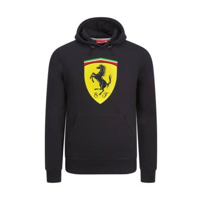 Ferrari pulóver - Large Scudetto fekete