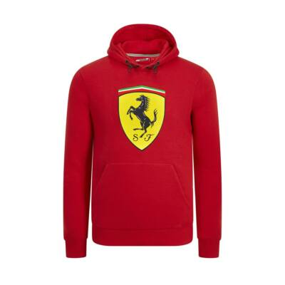 Ferrari pulóver - Large Scudetto piros