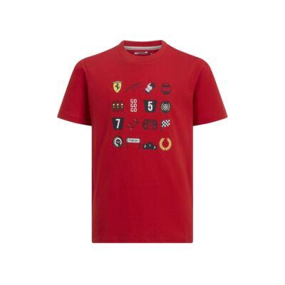 Ferrari gyerek póló - F1 Racing