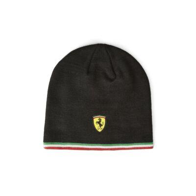 Ferrari sí sapka - Scudetto Tricolore fekete