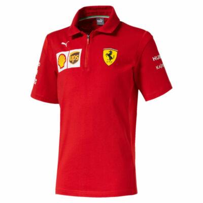 Ferrari gyerek galléros póló - Team